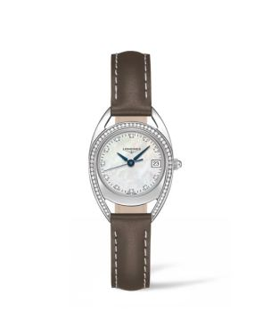 Longines Equestrian Collection Arch Diamonds mother of pearl