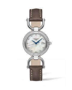Longines Equestrian Collection Stirrup diamonds and monther of pearl