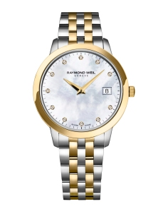 Raymond Weil toccata 34mm steel and gold