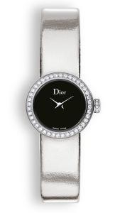 La mini D de Dior mini mirror silver