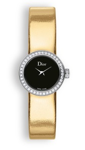 La mini D de Dior Mirror gold