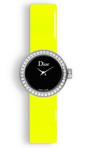 La mini D de Dior Yellow