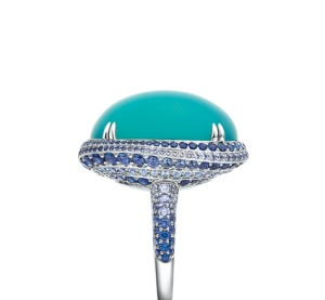 Tiffany and Co. Blue Book 2015. The Art of the Sea ring 2